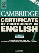 Cambridge Certificate of Proficiency English 1. Student's Book with answers