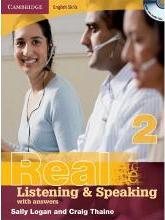 Real Listening & Speaking 2. Edition with answers and Audio CD