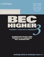 Cambridge BEC Higher 3. Student's Book with answers
