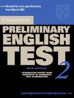 Cambridge Preliminary English Test 2. Student's Book with answers. Lower-Intermediate