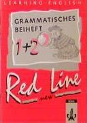 Learning English. Red Line 1/2. New. Grammatisches Beiheft. Bayern