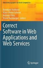 Correct Software in Web Applications and Web Services