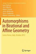 Automorphisms in Birational and Affine Geometry