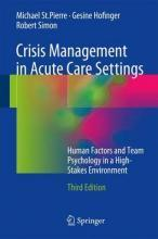 Crisis Management in Acute Care Settings 2017