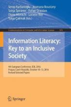 Information Literacy: Key to an Inclusive Society