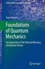 Foundations of Quantum Mechanics