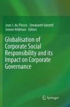 Globalisation of Corporate Social Responsibility and its Impact on Corporate Governance