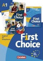 First Choice 1. Kursbuch, Extra Language Trainer (ELT) in Mappe
