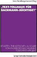 """""""text-Tollhaus F�r Bachmann-S�chtige?"""""""