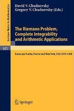 The Riemann Problem, Complete Integrability and Arithmetic Applications
