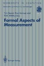 Formal Aspects of Measurement