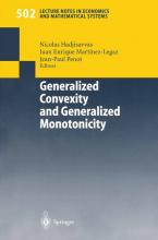 Generalized Convexity and Generalized Monotonicity