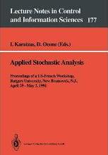 Applied Stochastic Analysis