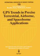 GPS Trends in Precise Terrestrial, Airborne and Spaceborne Applications