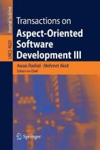 Transactions on Aspect-oriented Software Development: No. 3