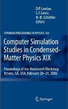 Computer Simulation Studies in Condensed-Matter Physics XIX