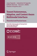 Towards Autonomous, Adaptive, and Context-Aware Multimodal Interfaces