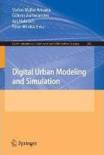 Digital Urban Modeling and Simulation