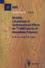 Ab Initio Calculations of Conformational Effects on 13C NMR Spectra of Amorphous Polymers