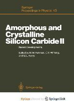 Amorphous and Crystalline Silicon Carbide II