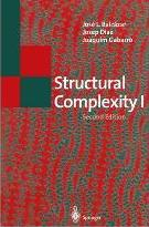 Structural Complexity: I