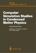 Computer Simulation Studies in Condensed Matter Physics