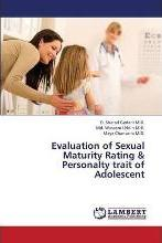 Evaluation of Sexual Maturity Rating & Personalty Trait of Adolescent