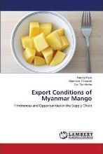 Export Conditions of Myanmar Mango