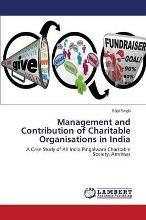 Management and Contribution of Charitable Organisations in India
