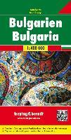 Bulgaria Road Map 1:400 000