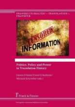 Politics, Policy and Power in Translation History
