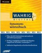 Wahrig digital Synonymwörterbuch. CD-ROM für Windows