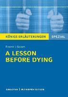 A Lesson Before Dying. Niedersachsen