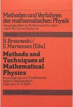 Methods and Techniques of Mathematical Physics
