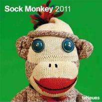 2011 Sock Monkey Grid Calendar