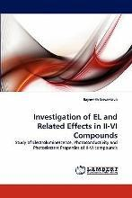 Investigation of El and Related Effects in II-VI Compounds