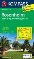 Rosenheim / Bad Aibling / Wasserburg am Inn 1 : 50 000