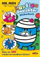 Mr. Men - Lustige Gesichter Stickerbuch