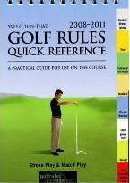 Golf Rules Quick Reference 2008-2011