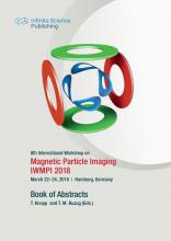 8th International Workshop on Magnetic Particle Imaging (Iwmpi 2018)