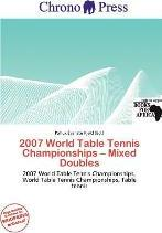 2007 World Table Tennis Championships - Mixed Doubles