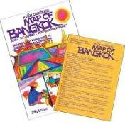 """Nancy Chandler's Map of Bangkok Alias the """"Market Map and Much More"""""""