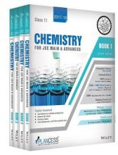 Plancess Study Material Chemistry for Jee Main & Advanced, Class 11, Set of 4 Books: 2017