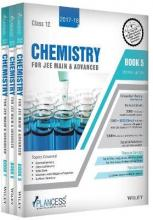 Plancess Study Material Chemistry for Jee Main & Advanced, Class 12, Set of 3 Books: 2017