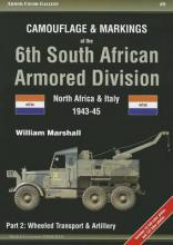 Camouflage & Markings of the 6th South African Armored Division