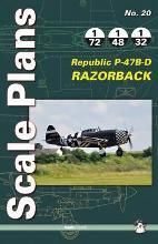 Scale Plans No. 20: Republic P-47B-D Razorback