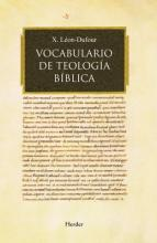 Vocabulario de teologia biblica / Vocabulary of Biblical Theology