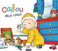 "Caillou dice ""Â¡no!"""