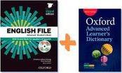 English File 3rd Edition Advanced Studen's Book +Workbook with key + Oxford Advanced Learner's Dictionary 9th Edition