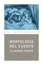 Morfologia Del Cuento/ Morphology of Folk Tales